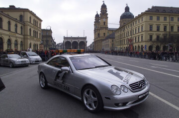 Mercedes-Benz-Event, Muenchen, 18.02.2001 F1 Safety Car