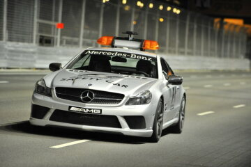 Formel 1, Grand Prix Singapur 2008, Singapur, 28.09.2008 F1 Safety Car, Mercedes-Benz SL 63 AMG