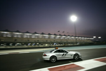 Formel 1, Grand Prix Abu Dhabi 2009, Yas Marina Circuit, 01.11.2009 F1 Safety Car, Mercedes-Benz SL 63 AMG