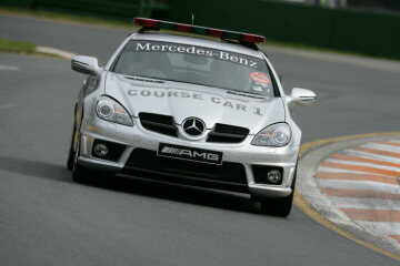 Formel 1, Grand Prix Australien 2009, Melbourne, 29.03.2009 F1 Course Car, Mercedes-Benz SLK 55 AMG