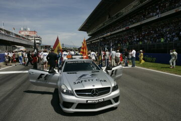 Formel 1, Grand Prix Spanien 2008, Barcelona, 27.04.2008 Startaufstellung F1 Safety Car, Mercedes-Benz SL 63 AMG