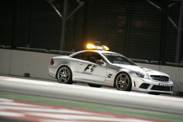 Formel 1, Grand Prix Singapur 2009, Singapur, 27.09.2009 F1 Safety Car, Mercedes-Benz SL 63 AMG