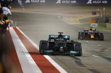 2021 Bahrain Grand Prix, Sunday - LAT Images